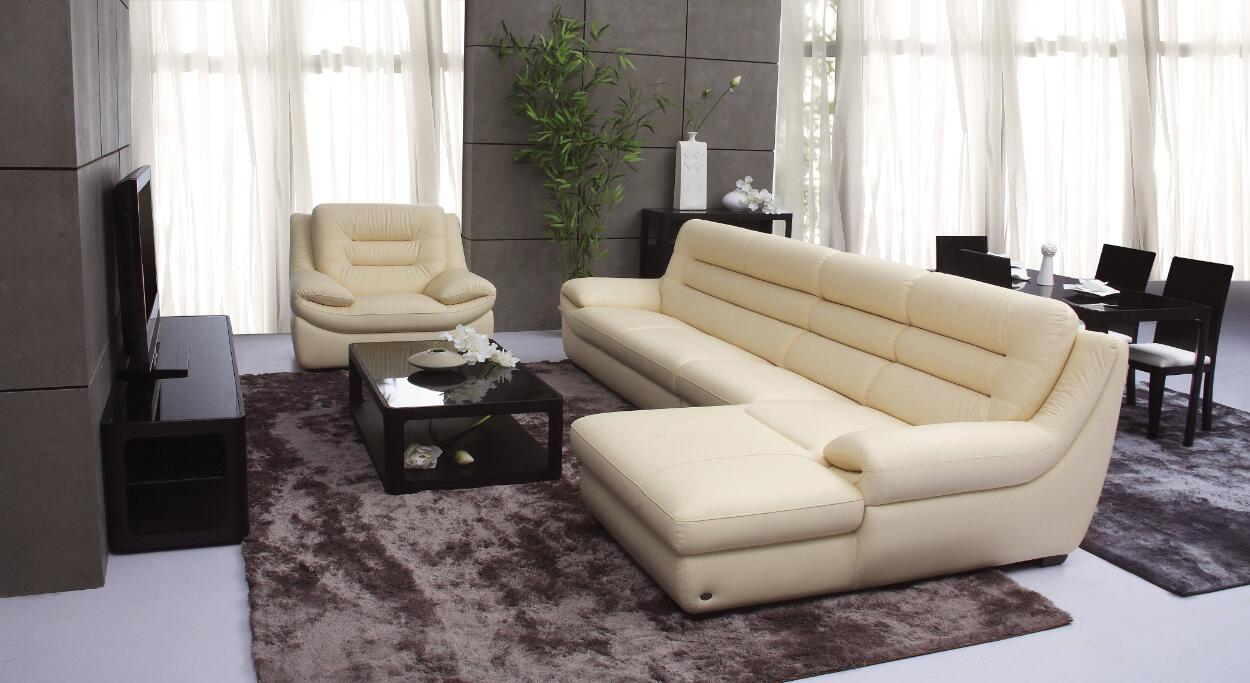 白色皮沙发的清洁方法